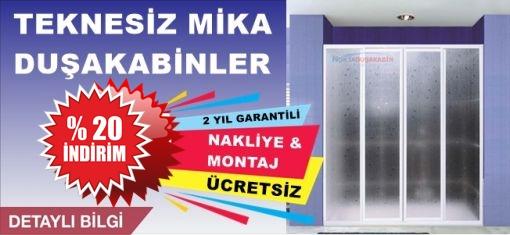 Teknesiz Mika Duşakabin Modelleri ve fiyatları